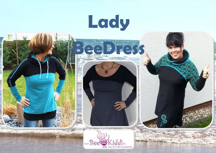 BeeDress, Beekiddi, Schnittmuster, Ebook, Hoddie, Sweatshirt, Shirt