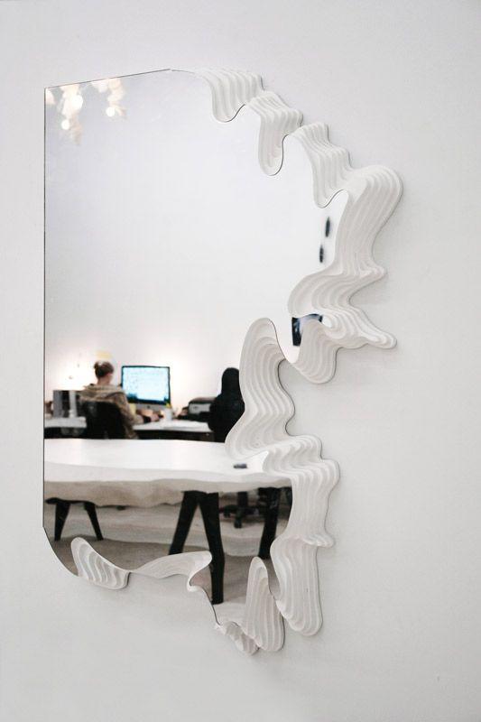 Mirror: Interior Design, Decor, Ideas, Excavated Mirror, Mirror Mirror, Art, Architecture, Photo