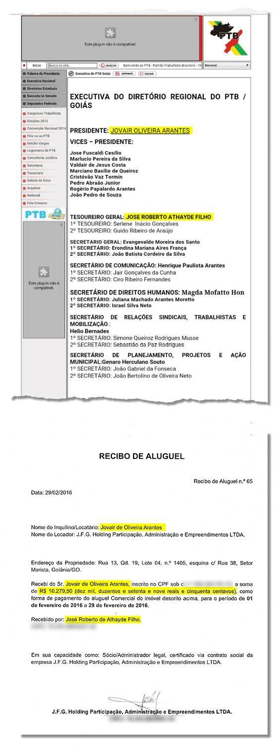Jovair Arantes favorece correligionário com cota parlamentar (Foto: Reprodução)
