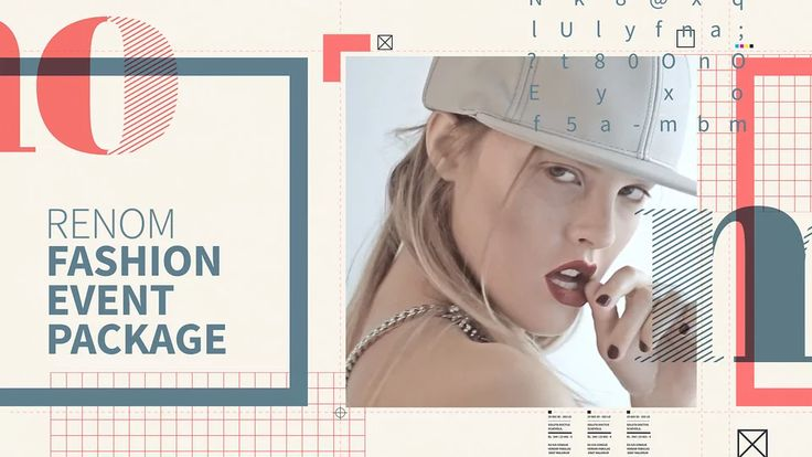 Renom - Fashion Event Package (After Effects Template) on Vimeo