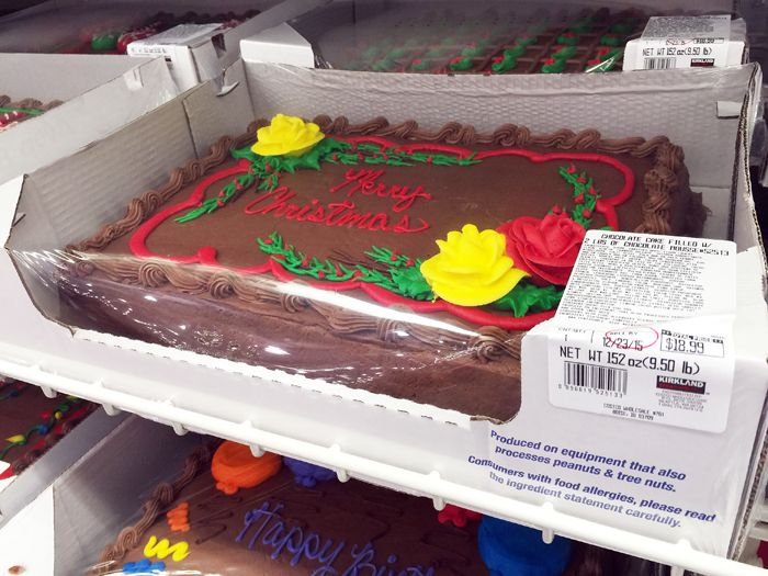 Costco Sheet Cake Picture