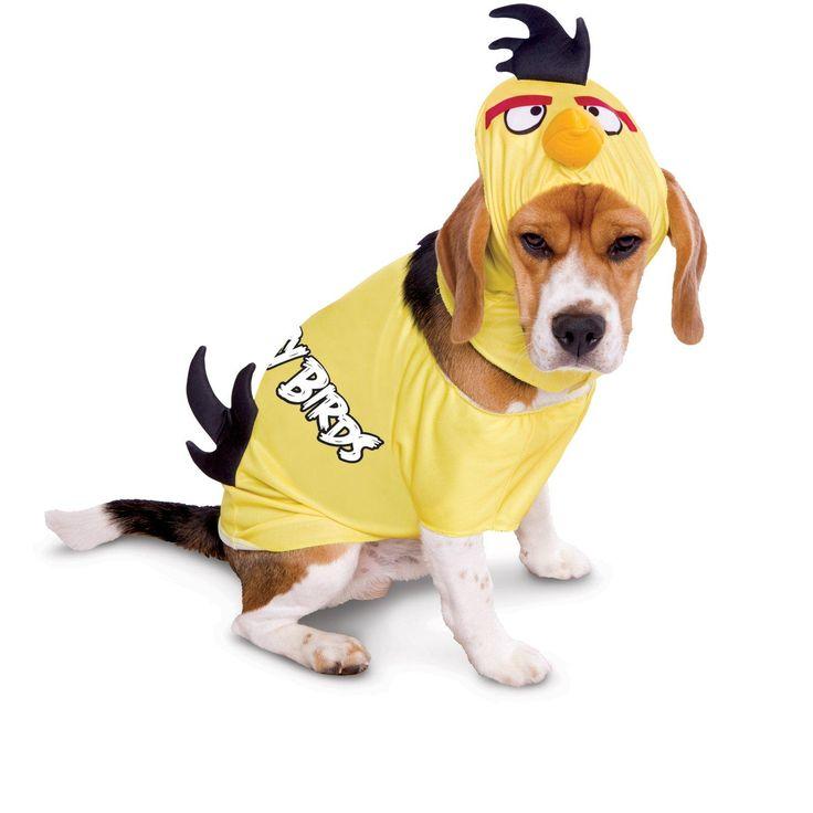 Rovio Angry Birds Yellow Bird Pet Costume from Buycostumes.com