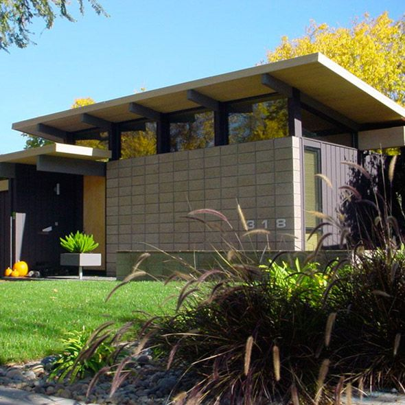 remodeled parkside eichler on silicon valley modern home tour 2012