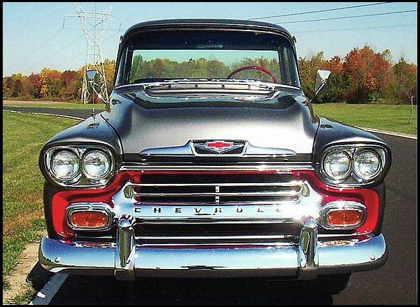 W209 1958 Chevrolet Apache Pickup 283 Ci 3 Speed Photo 3