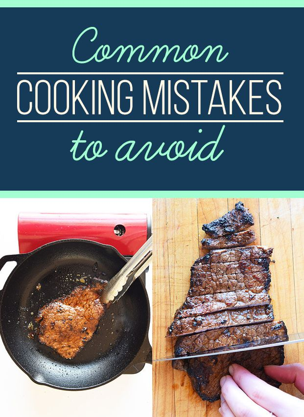 12 Common Cooking Mistakes You Might Be Making -   .