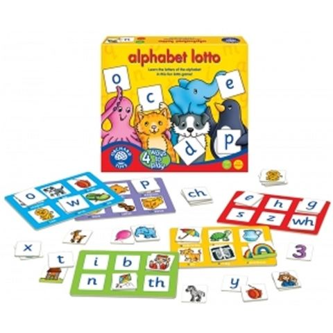 Alphabet lotto by Orchard Toys - Available at Kids Mega Mart Online Shop Australia