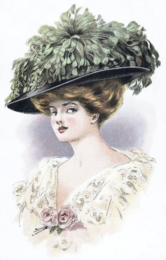 ladies victorian hats - photo #37