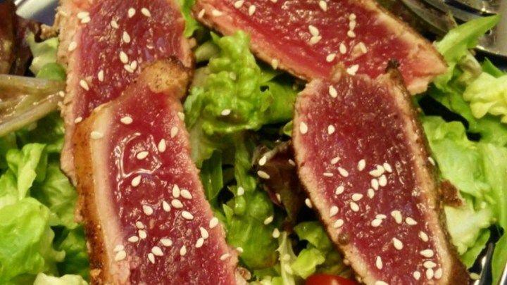 how to cook a fresh tuna steak