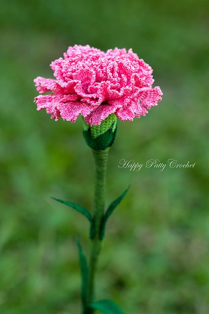 Ravelry: Crochet Carnation Flower Pattern by Happy Patty Crochet: