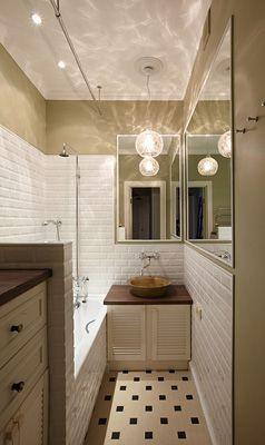 Фото дизайна интерьера : ванная (Квартира) - дизайн, фото, ракурсы, исполнители.
