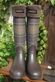 Barbour® Ladies Plaid Wellies - Barbour Tartan Rain Boots
