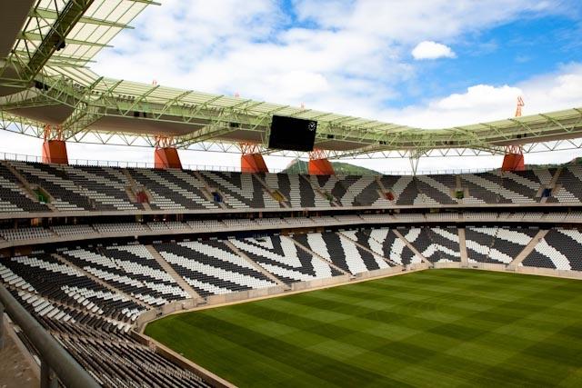 Mmombela Stadium, Nespriut, RPA