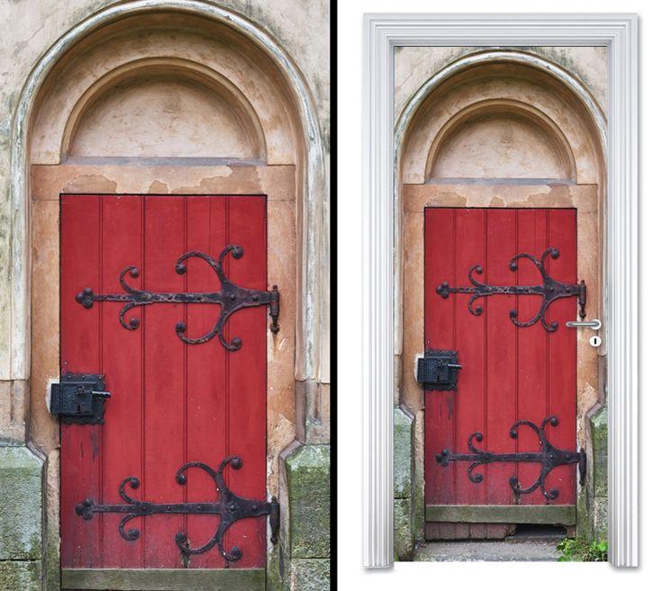 Door sticker RED DOOR by Sticky!!!