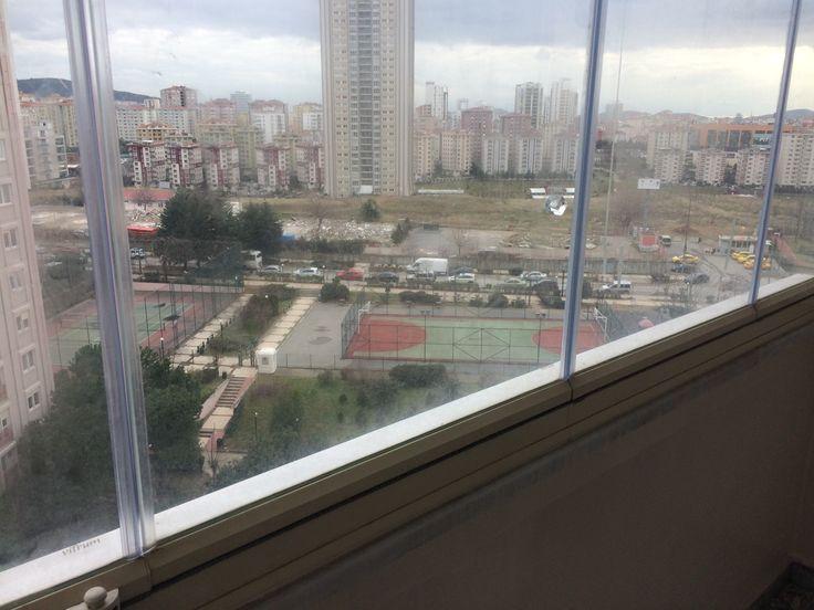 Turkuaz Sitesi/ Daire Yenileme/balkon camları