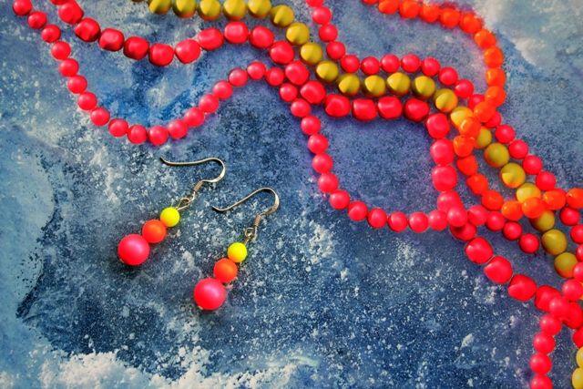 swarovski pearls earrings