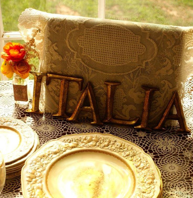 Italian Theme Bridal Shower   ... {Ashley's Italian-Themed Bridal Shower}   juli vaughn designs