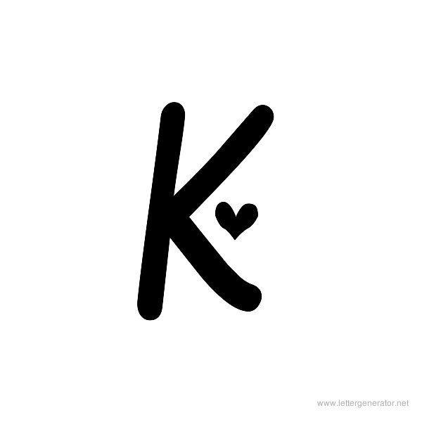 K Letter Images