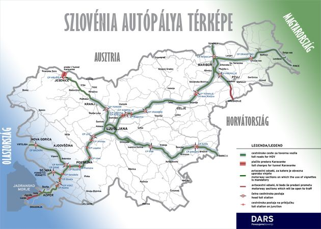 Szloven Autopalya Matrica 2019 2020 Arak Vasarlas Es Szlovenia