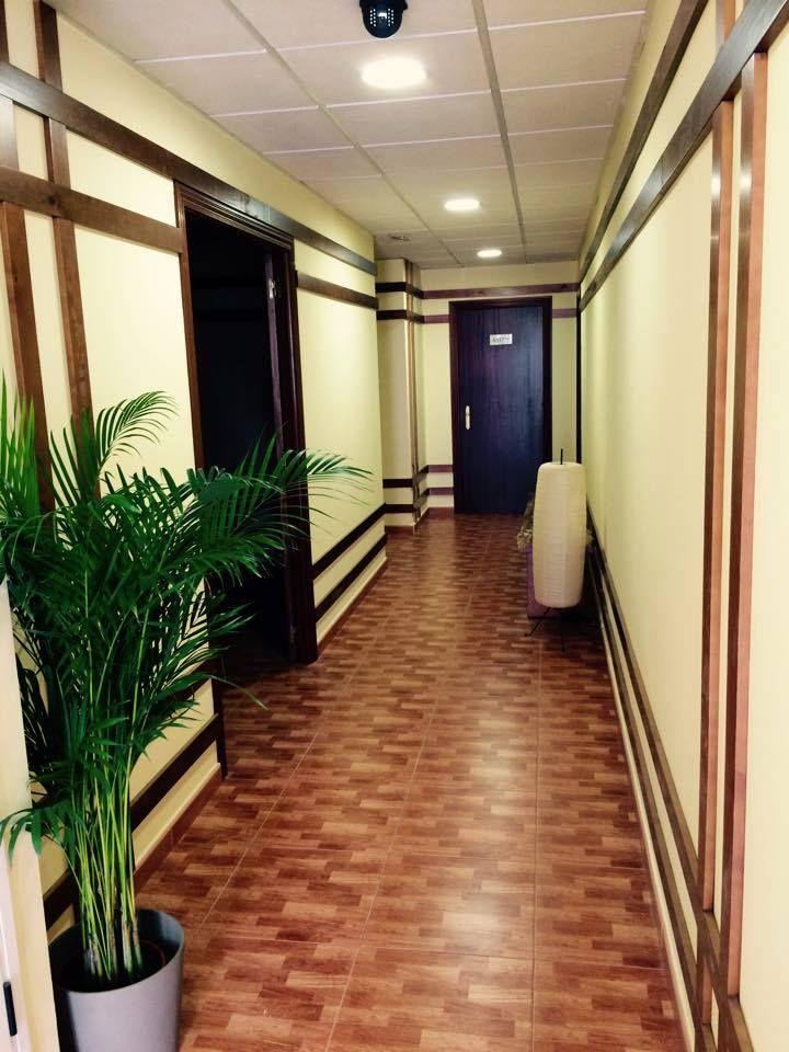 Detalle de pasillo Zen C.D. Formas, Montilla (Córdoba).