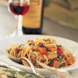 Spaghetti Alla Norma | MyRecipes.com #myplate #grain #vegetable
