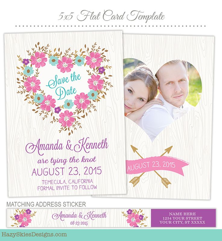 17 best images about wedding engagement templates for for Save the date psd