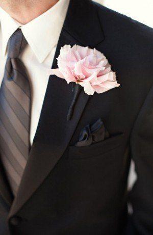 Classic Groomsmen Shot, Monochrome Suit and Tie
