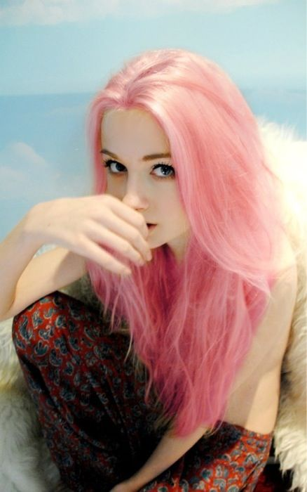 I want this Baby Pink Hair!