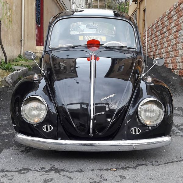 1965 VW BEETLE KAFER #retro #cars #vw #kafer #vosvos #turkey #black #classiccar #class #old #daily #day #photo #germany #style