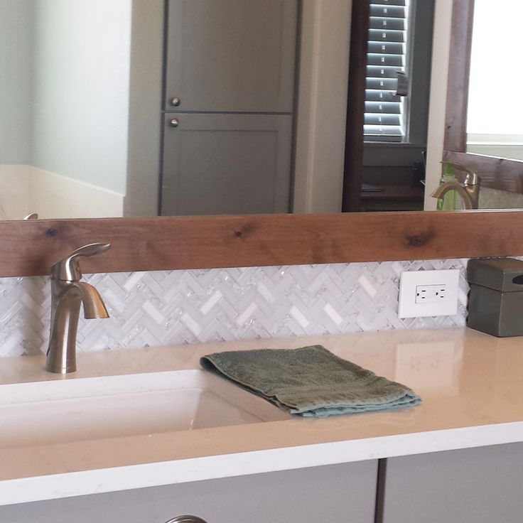 Best 25+ Kitchen Tile Backsplash With Oak Ideas On