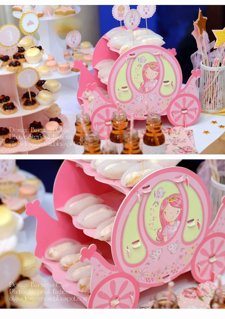 Baiciurina Olga's Design Room: День Рождения для Принцессы!-Princess Birthday Party!