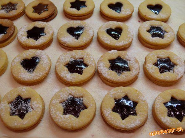 Voňavé linecké koláčiky