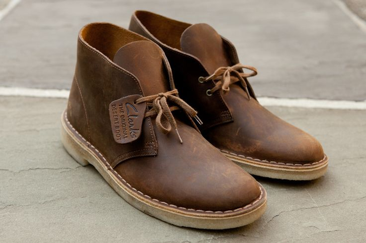 Clarks Original Desert Boot in Beeswax