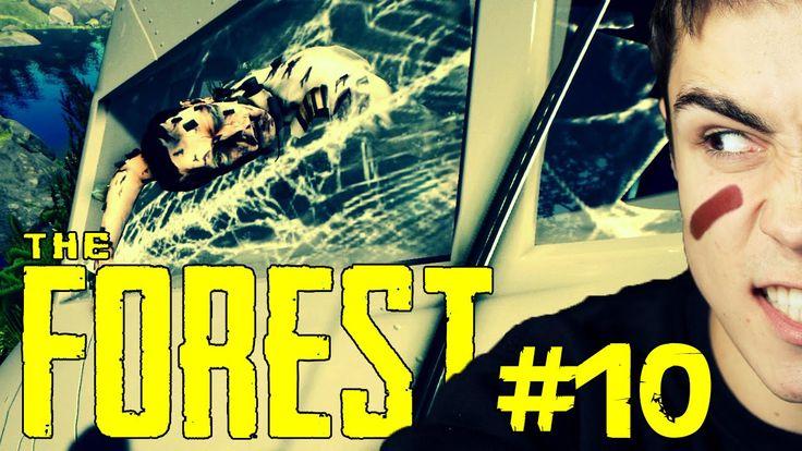 Kolejny wrak samolotu! - The Forest #10