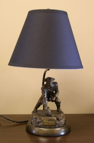 NFL New England Patriots Tim Wolfe Lamp