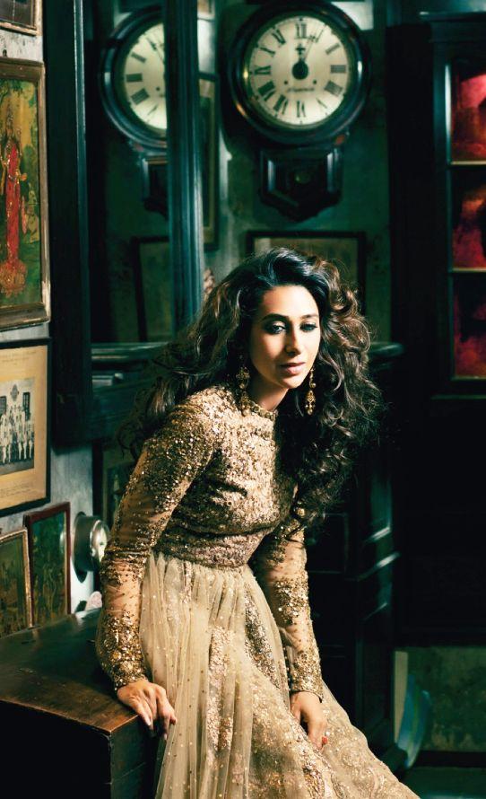Karisma Kapoor in Sabyasachi