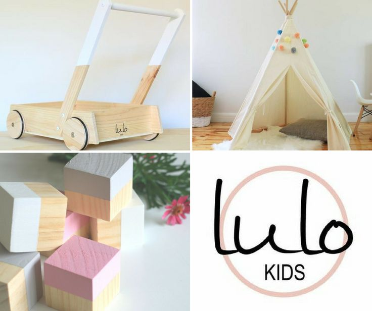 Lulo Kids is a small family based business in South Gippsland, Victoria, making children's teepees, wooden block trolleys and block sets.