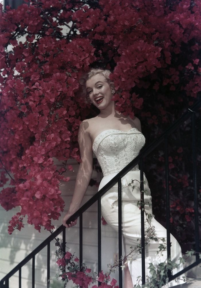 An Icon In Pictures: Marilyn Monroe c. 1950