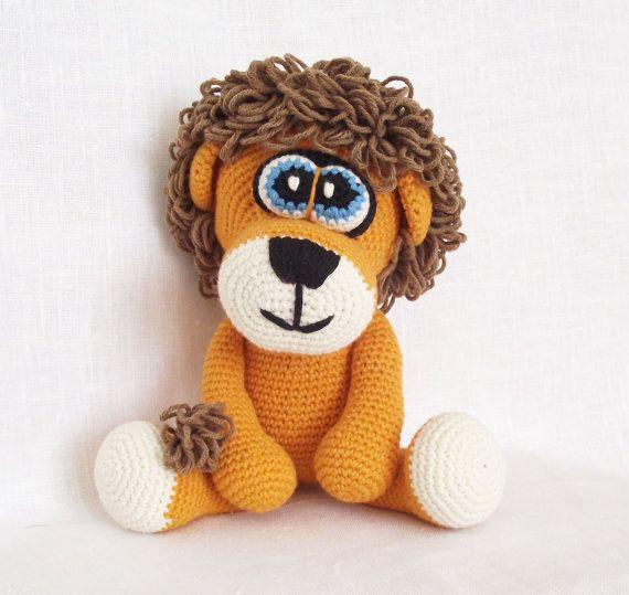 Crochet lion pattern