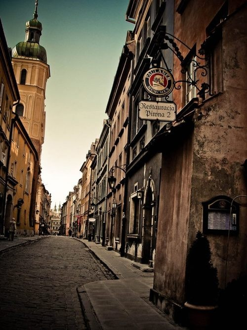 Warsaw, the Old Town, Poland #Warsaw
