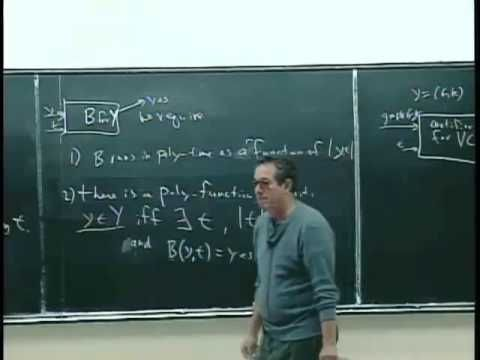 L23: NP Completeness, Supplemental Lecture 2, via YouTube.