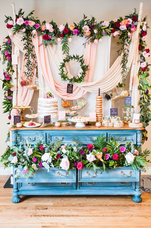 GORGEOUS Romantic Baby Shower Celebration Via Pretty My Party