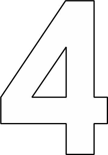 cijfer 4 zoeken rekenen 1e lj