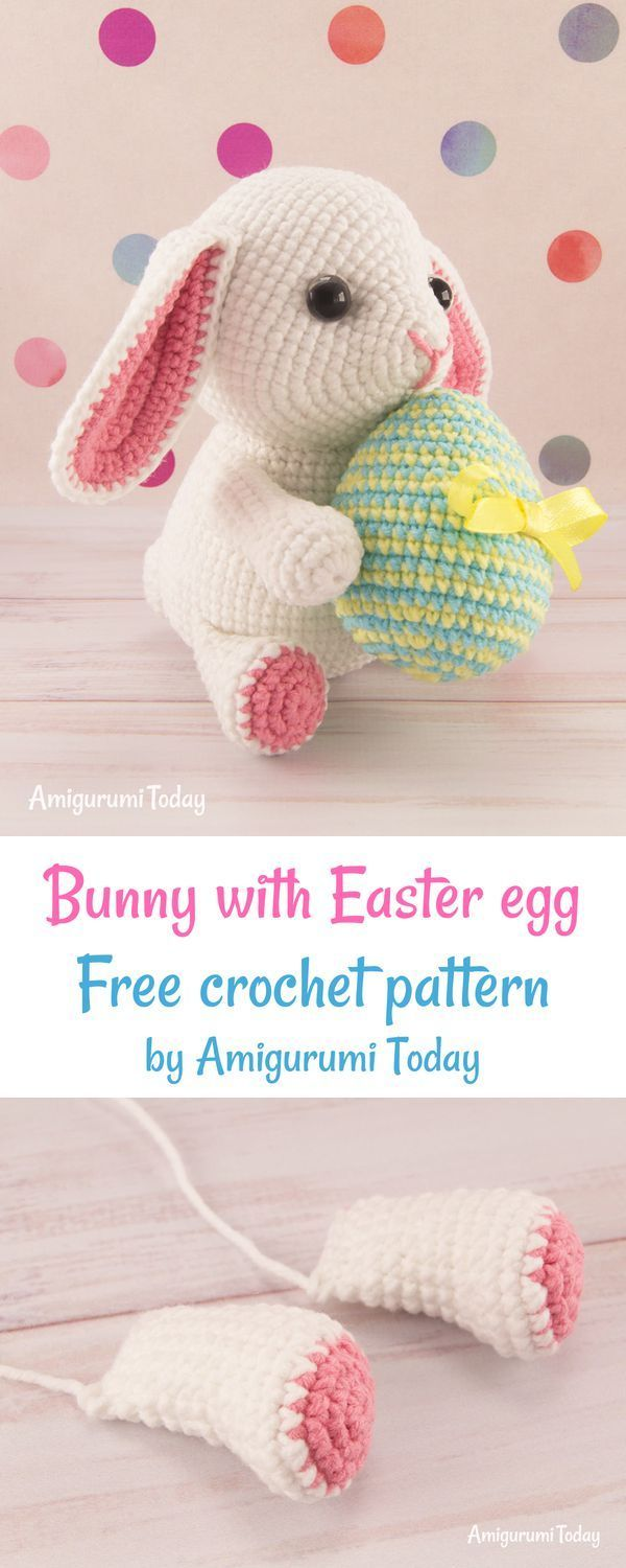 Pretty Bunny with floppy ears 🐰☺️... - Amigurumi Today - Free ... | 1500x600
