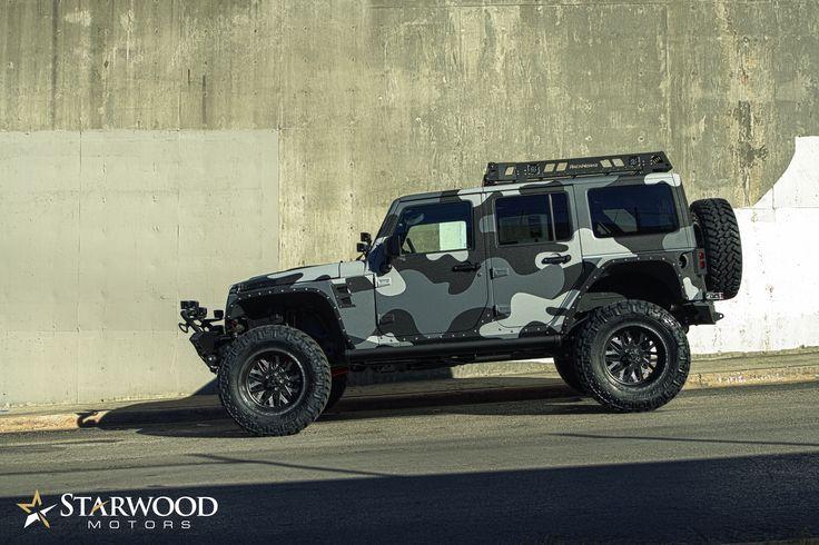 Starwood Motors Camo Jeep  #starwoodmotors #Jeep #camo #customjeep #offroad #JeepWrangler #4x4