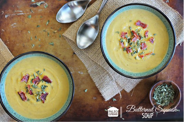 Butternut Squash Soup | 33 Delicious Paleo Recipes To Make In A Slow Cooker