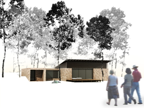 CS HOUSE by Paulo Martins, via Behance