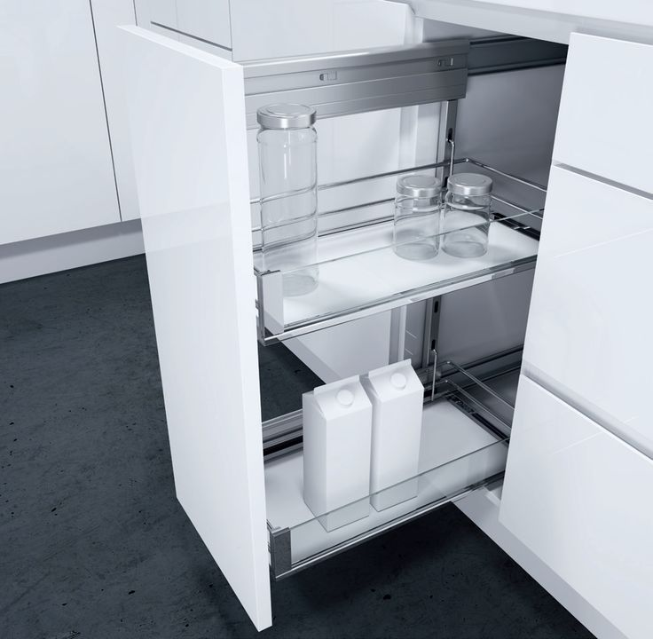 Side pull-out DSA with Artline. The DSA side pull-out with ...