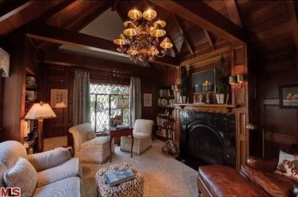 Tudor Homes Traditional Family Rooms Dream Library The Library Tudor