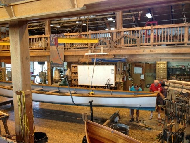 Traditional Boat Building Carpentry Class | WoodenBoat Magazine