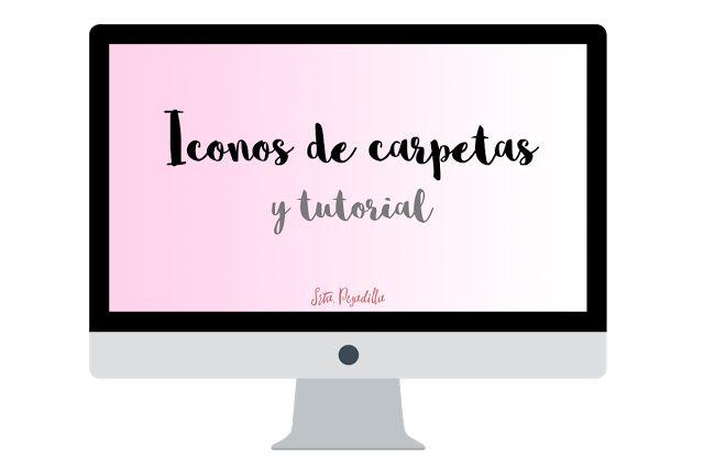 Srta Pesadilla: Iconos para carpetas + tutorial